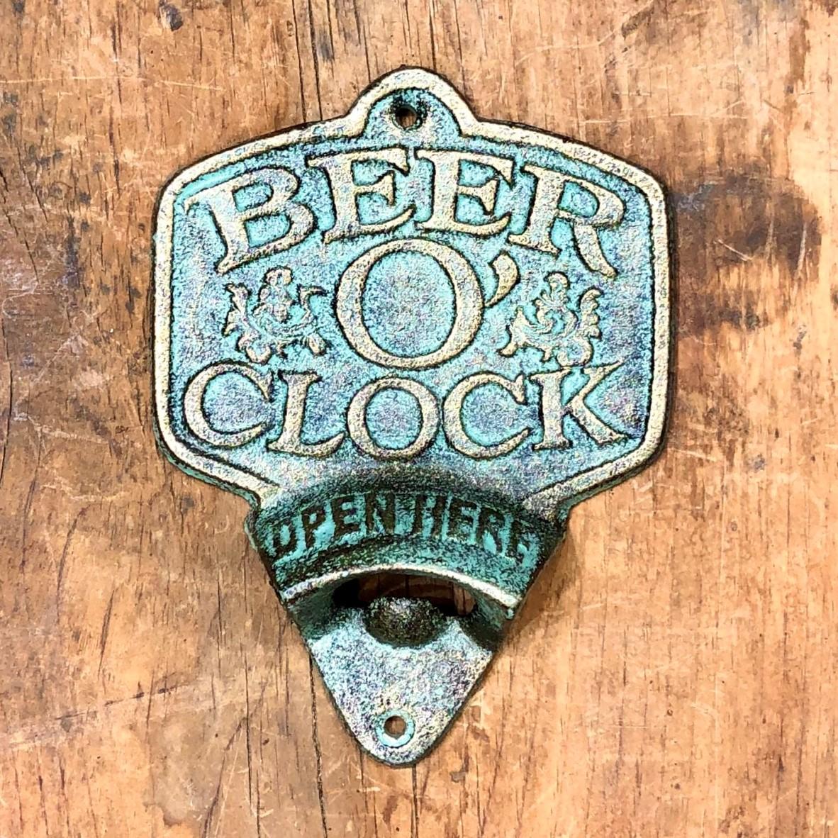 Bottle opener. Beer O Clock 2