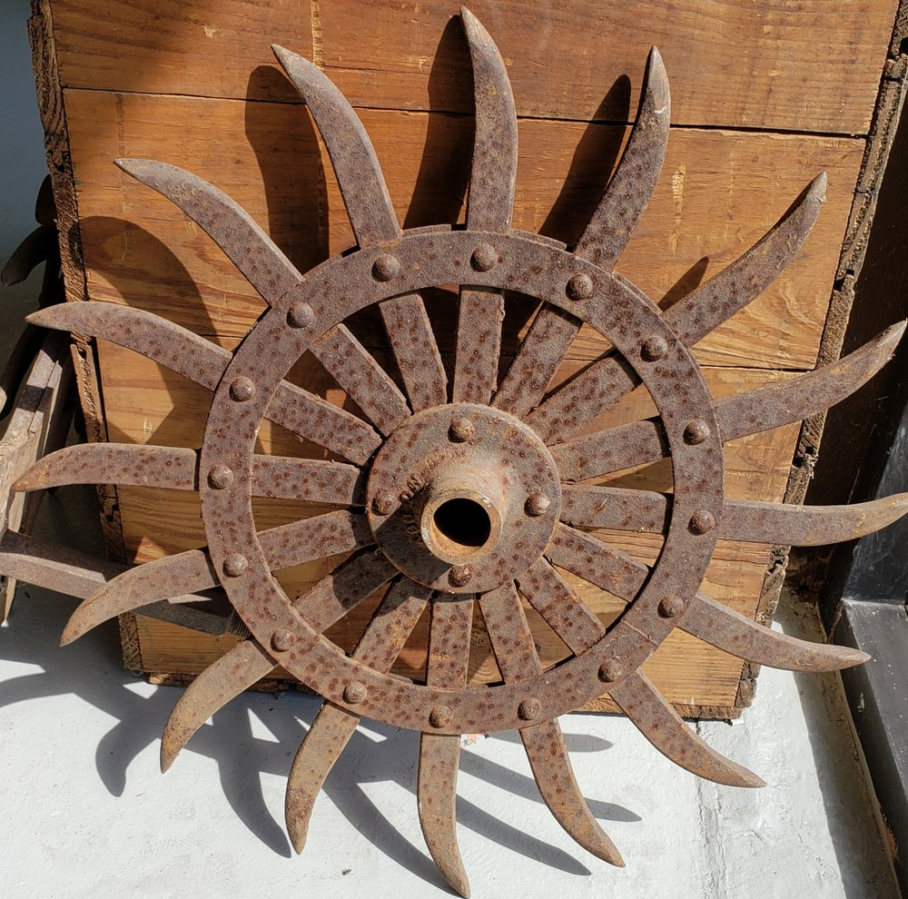 Industrial Salvage. Cultivator