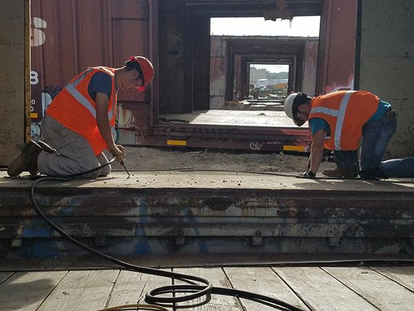 6. Railcar. Boxcar Flooring