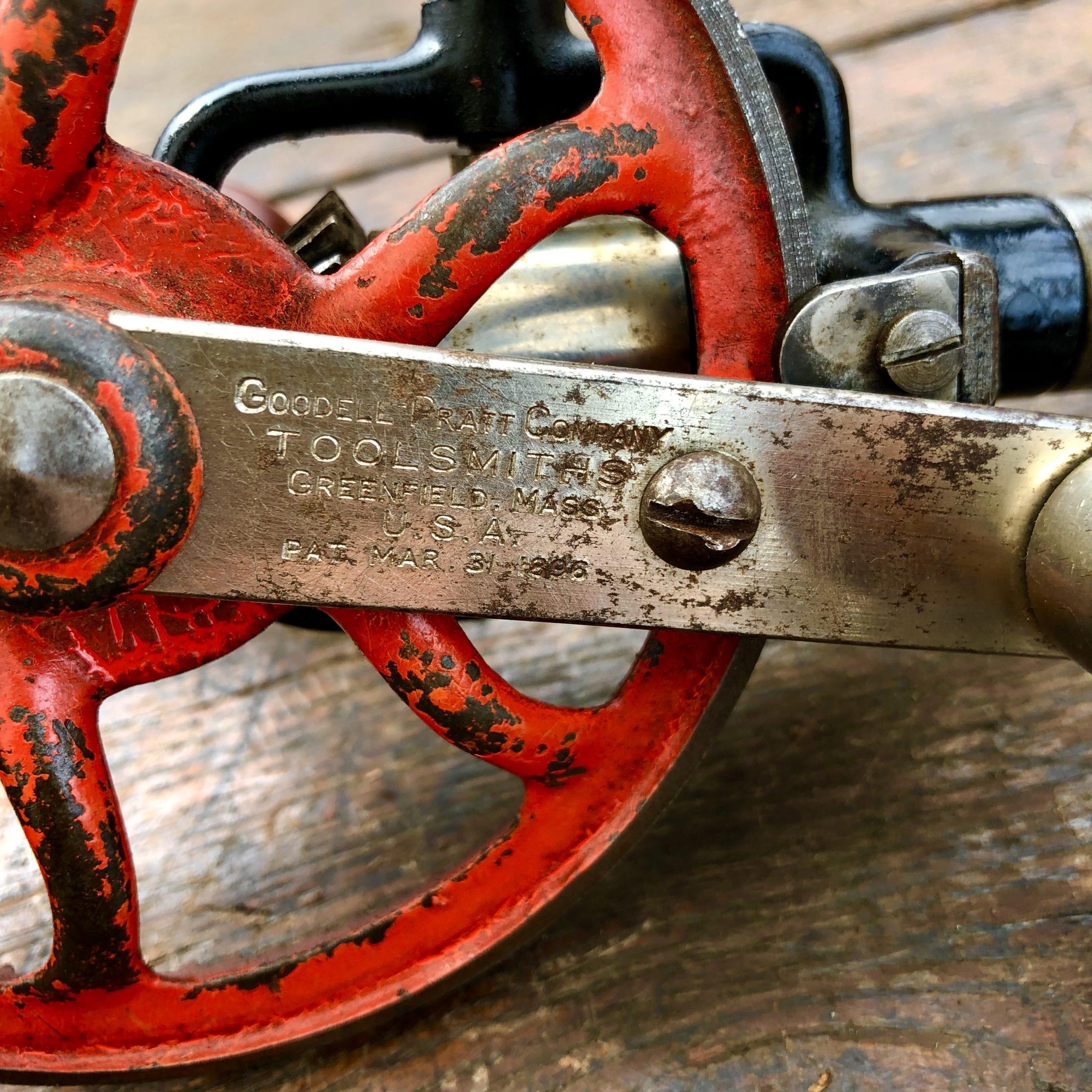 Goodell Pratt 5 1/2B Hand Drill