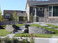 Retaining Walls Build Front Yard Landscapes