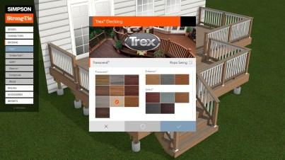 Trex Deck Designer - UI/UX