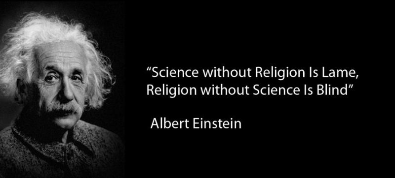 Einstein Quote About Science And Religion