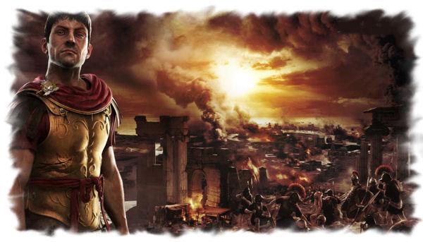 The burning of Carthage