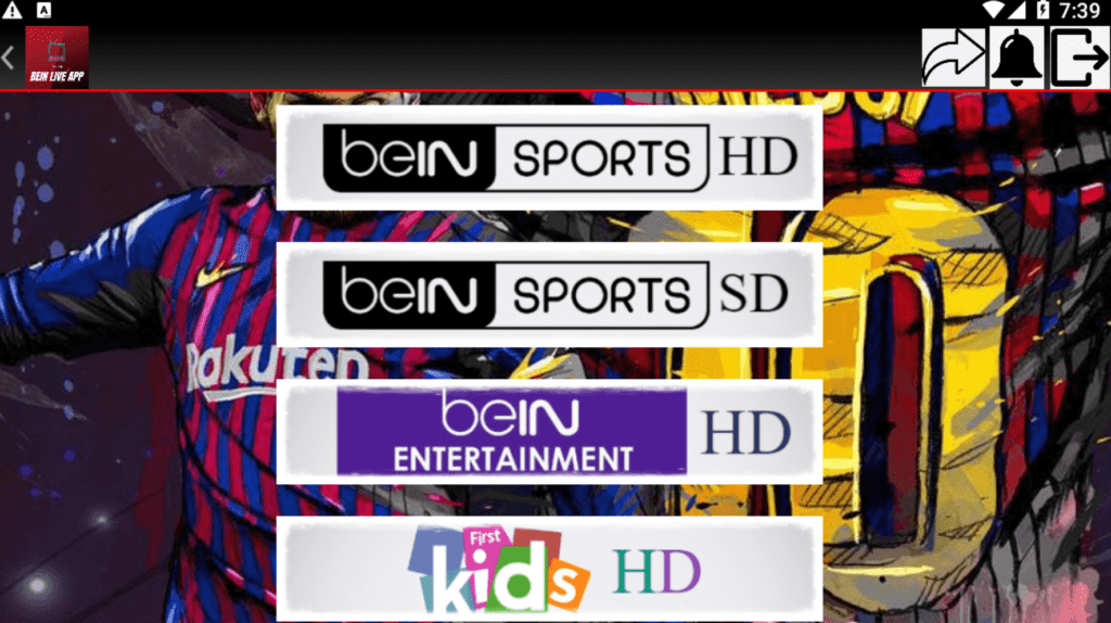 Bein Live  APK New IPTV For Android 1