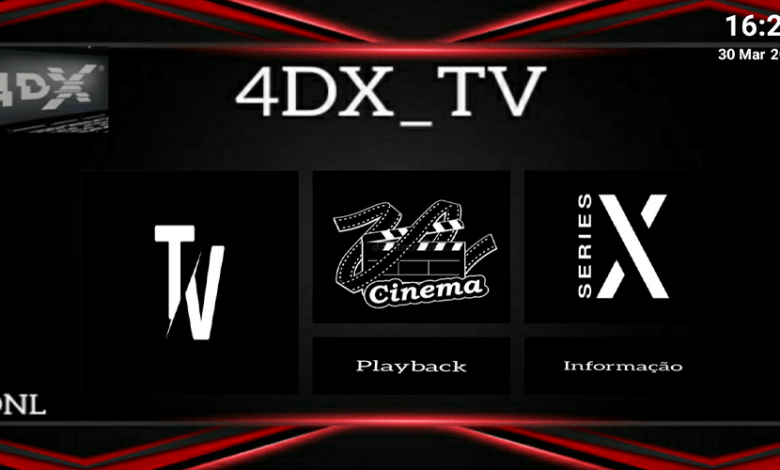 4DX TV New Premium IPTV APK With Activation Code 1