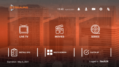 Streams Pro Premium IPTV APK With Activation Login code 7