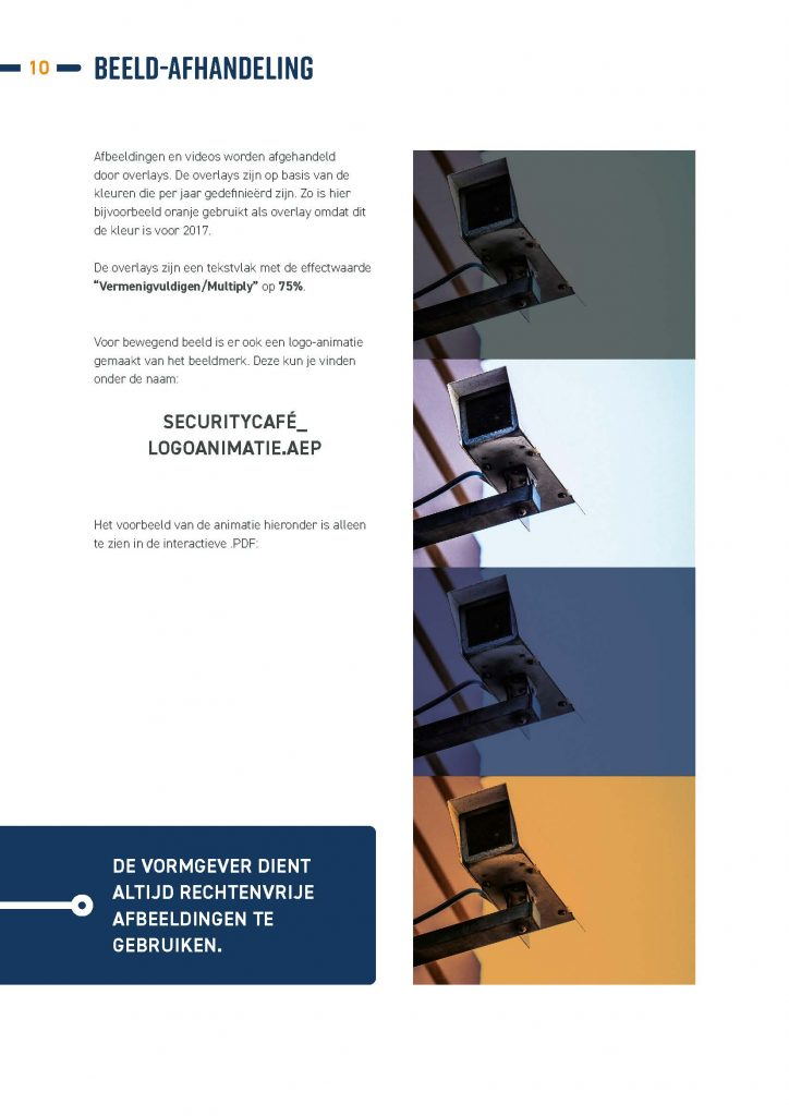 Brandbook PRESS Pagina 10