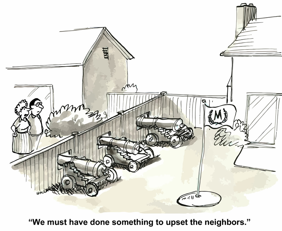 Neighbors And Privacy Fence