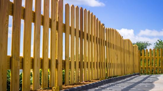 Staining Wood Fence