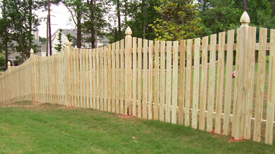 Customize Wood Fencing