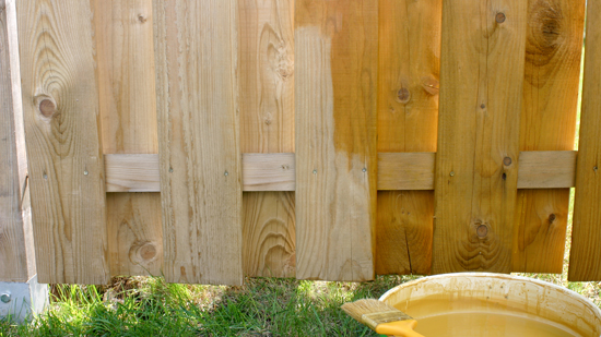 Fence Staining Vs. Painting: What's The Best Wood Fence Treatment?