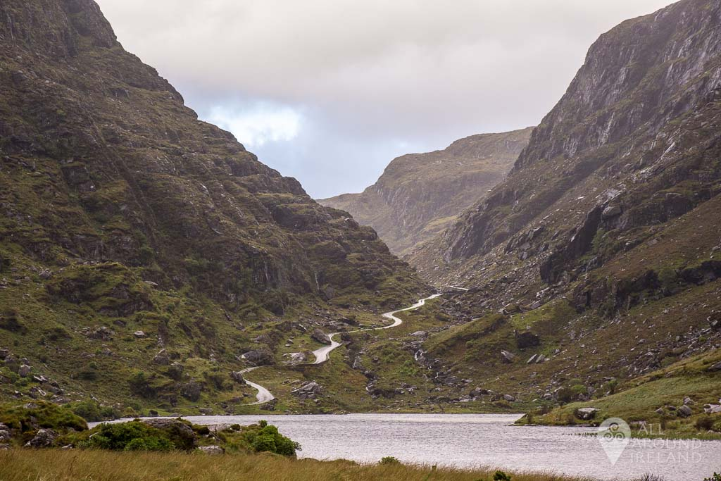 The majestic Gap of Dunloe in County Kerry
