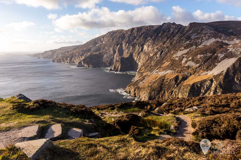 The Sliabh Liag cliffs in Donegal are some of the highest in Europe.
