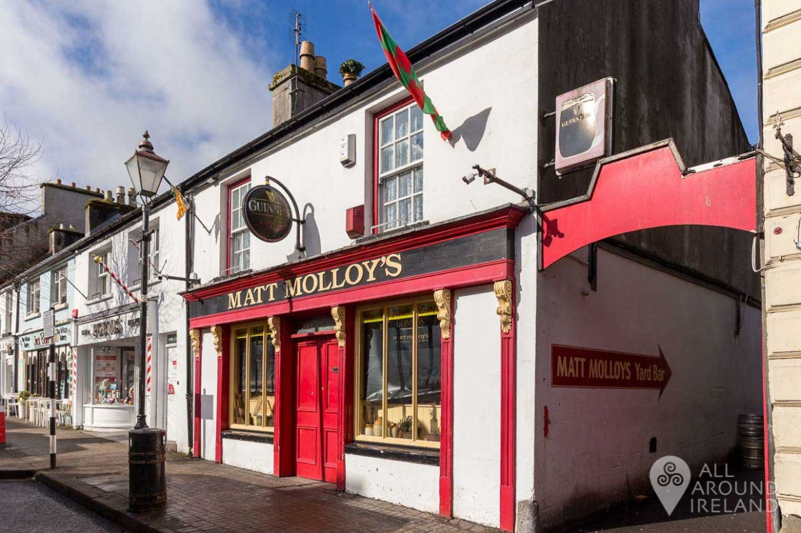 Matt Molloy's pub in Westport