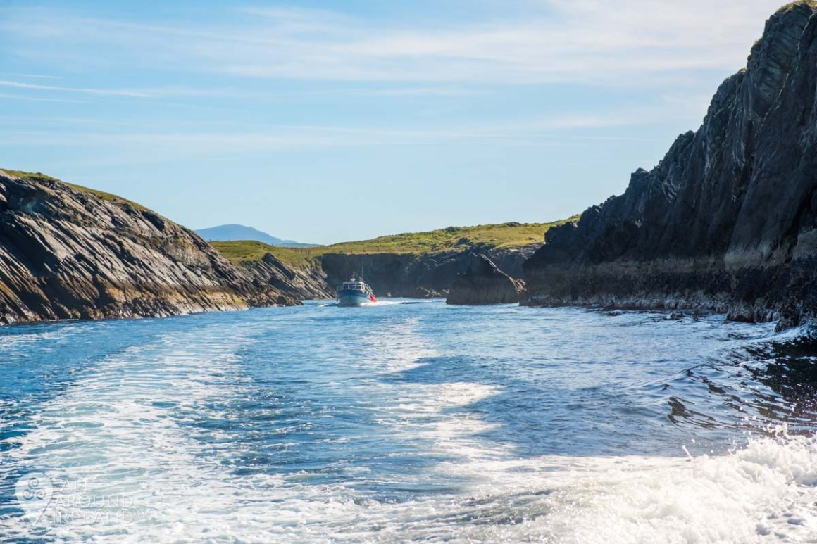 On route to the Skellig islands!