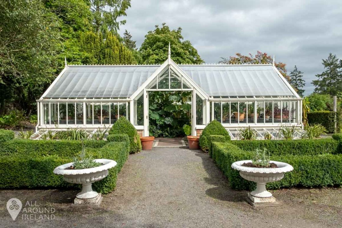 Victorian Glass House in the Walled Garden at Belvedere House and Estate.