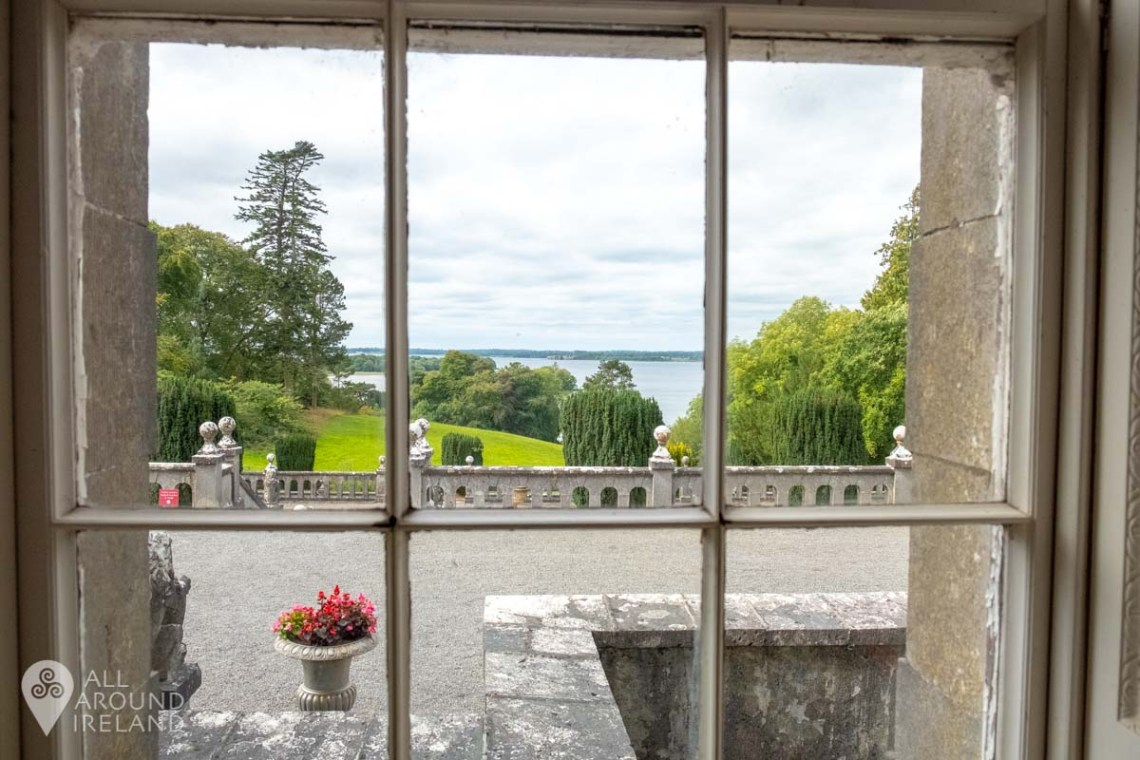 View to Lough Ennell from Belvedere House.
