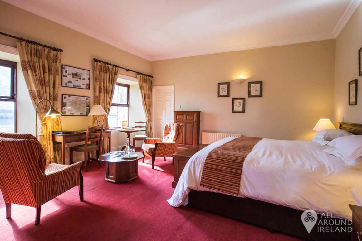 Our spacious room at Lough Inagh Lodge