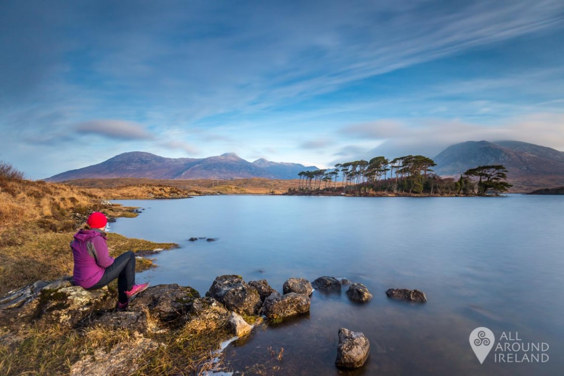 Early morning light at Derryclare Lough