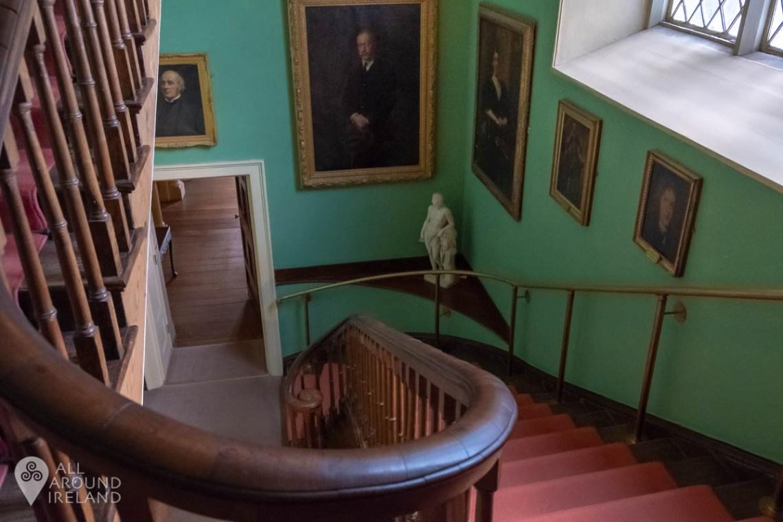 Staircase at Malahide Castle, Dublin