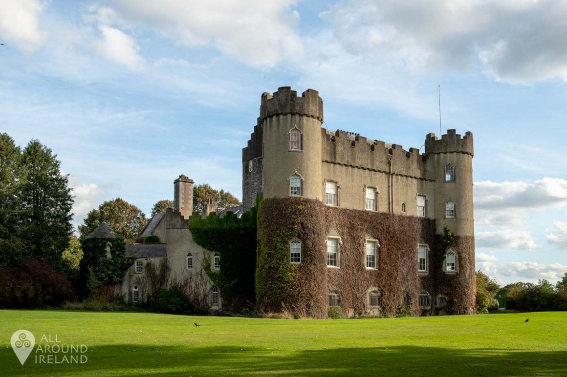 View of Malahide Castle from the West Lawn.