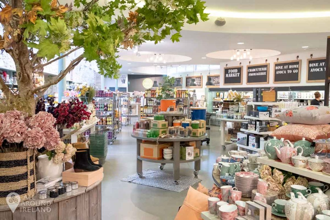 Avoca retail and food store at Malahide Castle