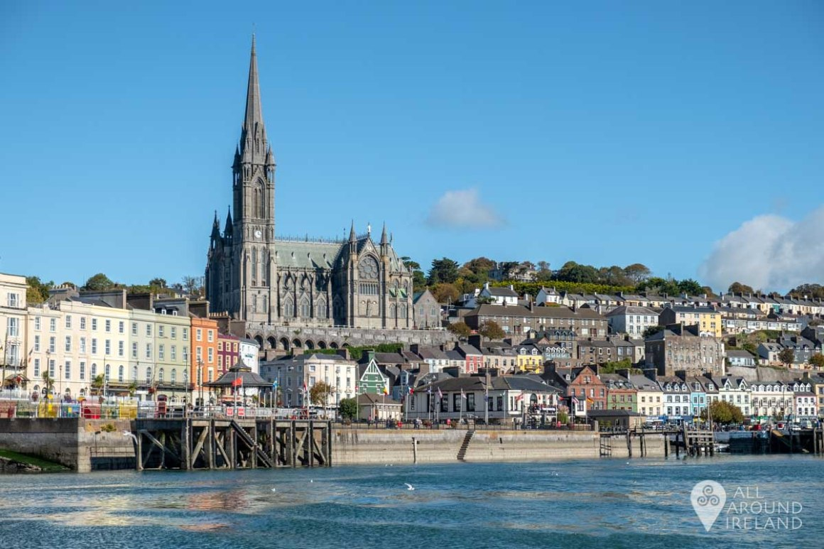Stunning views of Cobh as the ferry departs for Spike Island