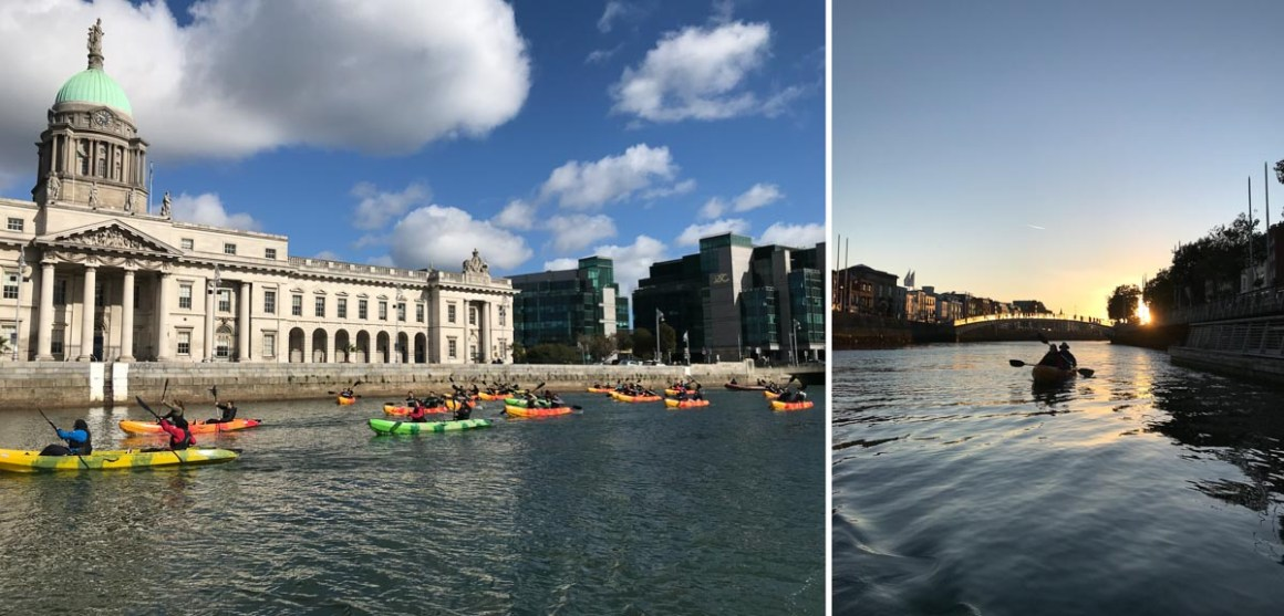 City Kayaking and Dublin Bay Sails