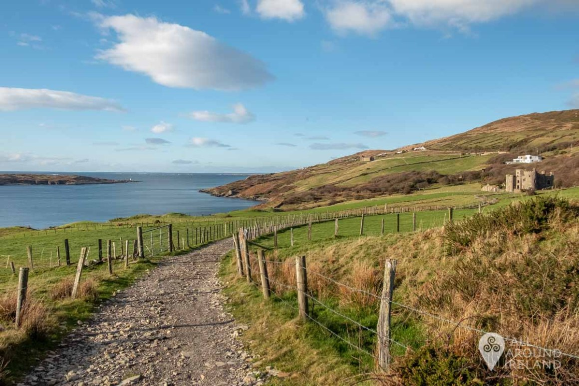 Views of Clifden Bay along the pathway