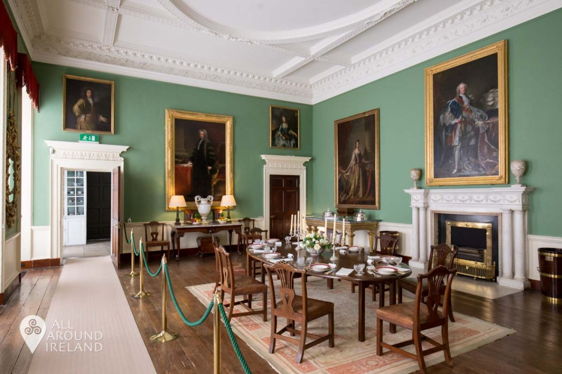 The Dining Room at Castletown House