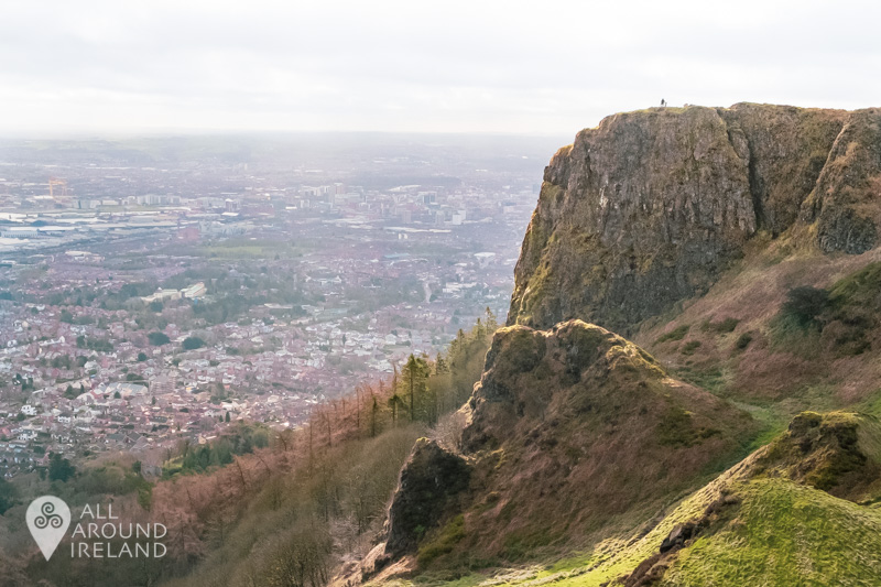 The view of McArt's Fort and Belfast from Cave Hill