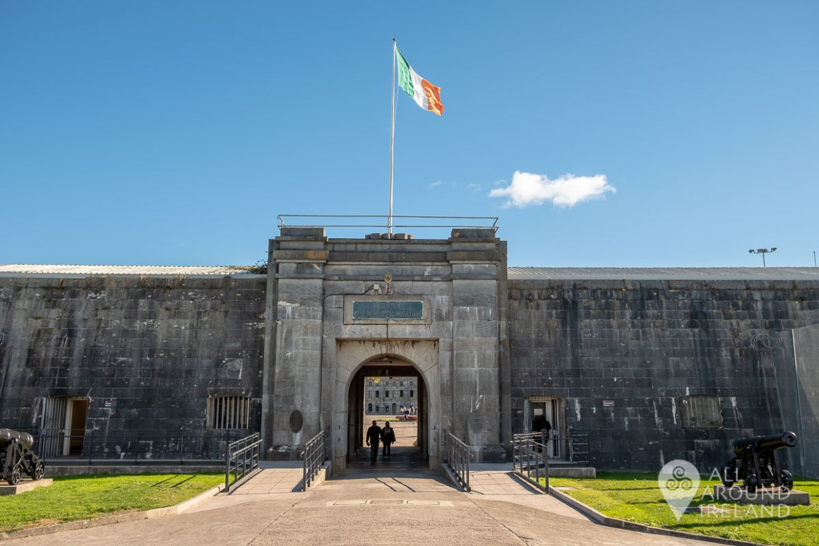 Exploring the fortress on Spike Island near Cobh