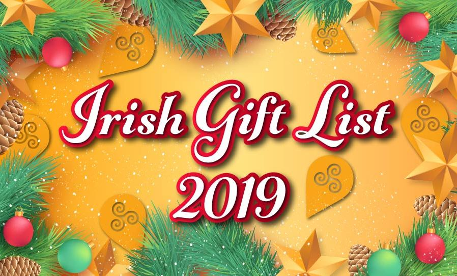 List of Irish gift ideas for Christmas 2019