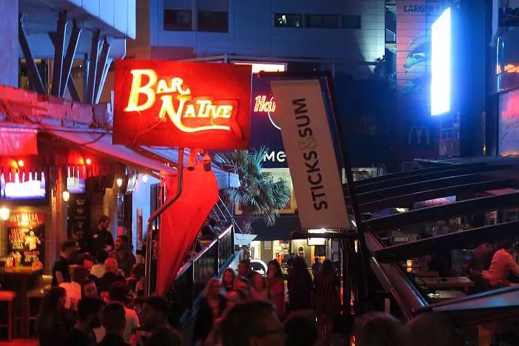 Die Bars und Clubs in Maltas Partymeile Paceville.