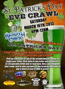 Cape Coral St Pat Eve Crawl