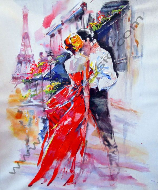 Paris Abstract Art Paintings