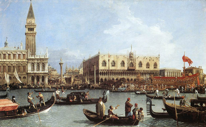 Return of the Bucentoro to the Molo on Ascension Day, 1732