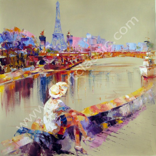 Modern Abstract Art Oil Painting