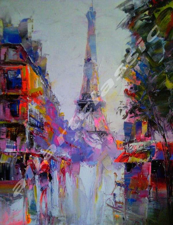 Paris Modern Art Paintings