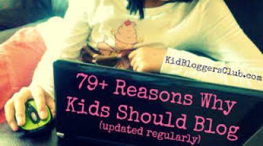Kid blogging safety