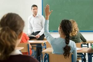 Teacher asking question