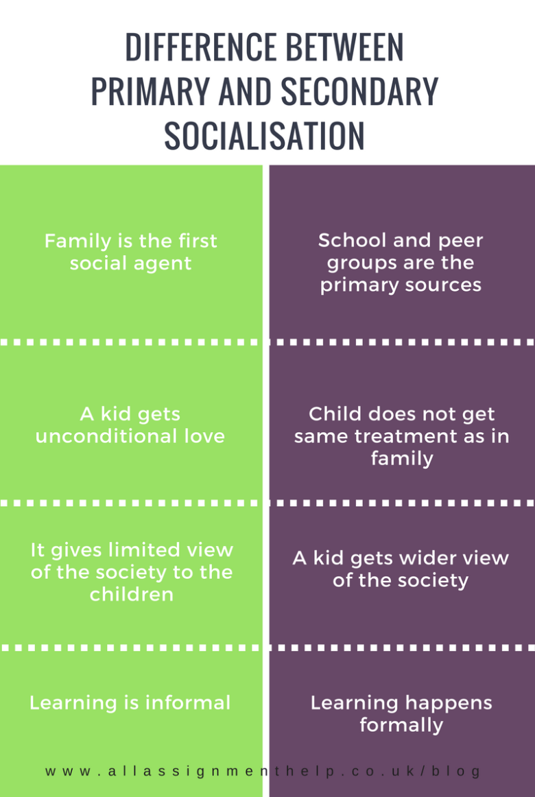 Primary Socialisation