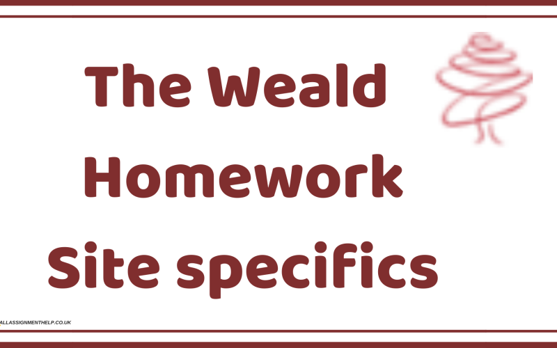 the-weald-homework