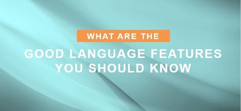 language features