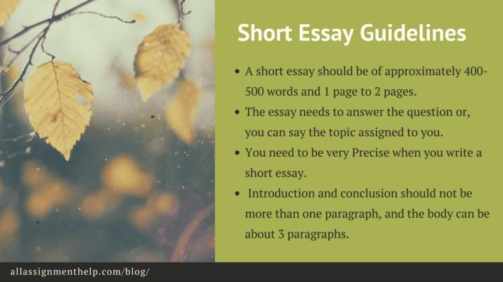 short-essay-guidelines