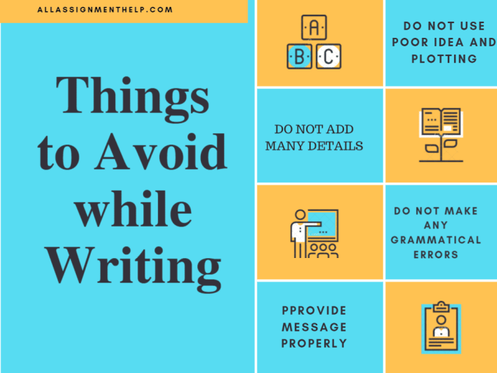 Things to avoid while writing