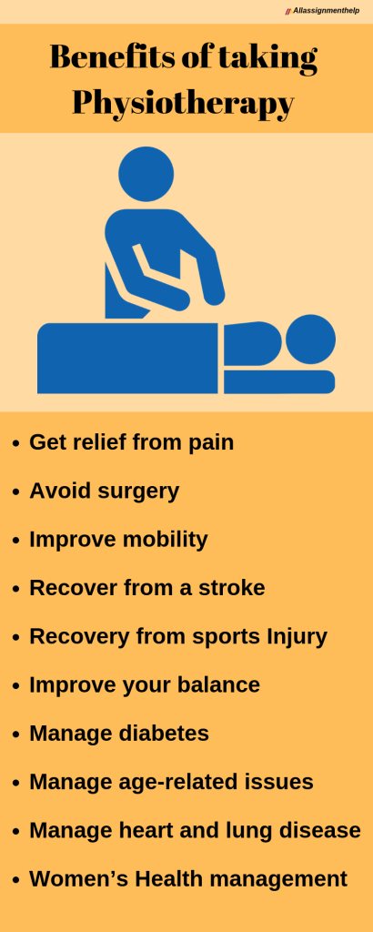 Benefits of taking Physiotherapy