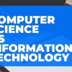 Computer Science vs Information