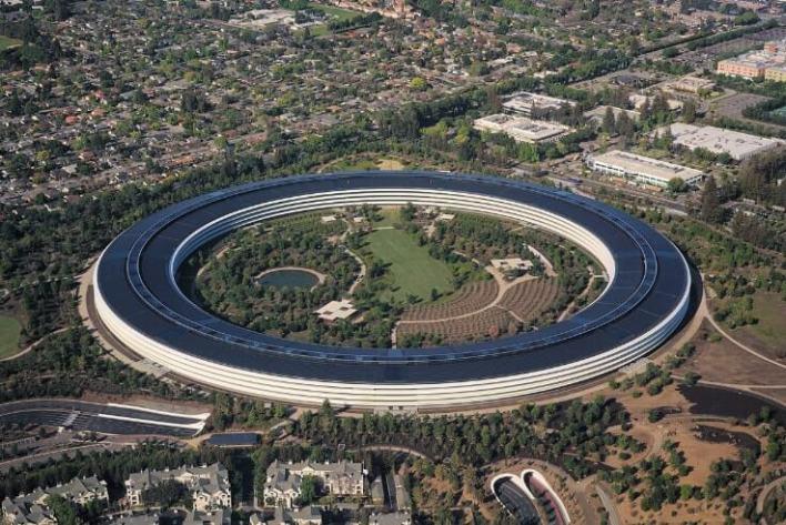 Apple-headquarter-Cupertino-California